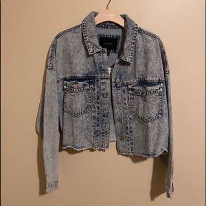 Jean jacket NWT